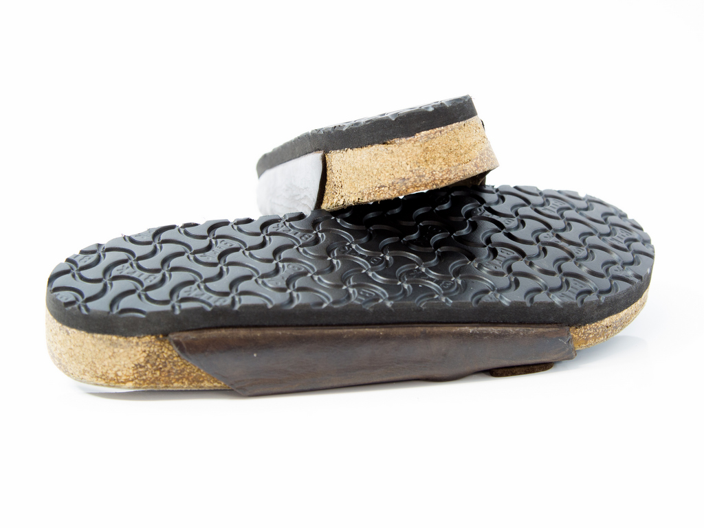 Resoled birkenstocks